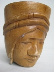 "Wooden Mug of ""Indio"""